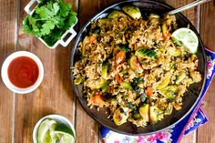 Brussel Sprout Fried Rice from Post Punk Kitchen [Isa Chandra Moskowitz]