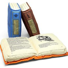 WANT||||||||Olde Book Pillow Classics | 32 Brilliant Things Every Book Lover Needs In Their Home