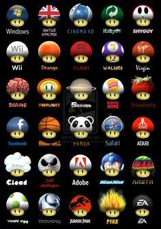 Awesome Mario Mushrooms
