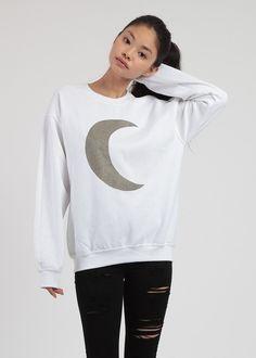 Glitter Moon Sweater