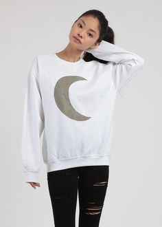 Glitter Moon Sweater