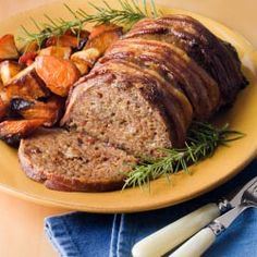 Whole Grain Meatloaf. Sounds crazy. Tastes amazing. Go whole grain for your next meatloaf.