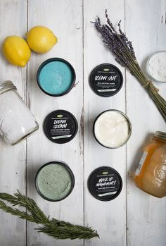 Our new self-preserving Dream Cream, Ocean Salt, and Mask of Magnaminty are available in shops and online now. With ingredients like salt, honey, and even tofu, these products have been reformulated to preserve themselves!