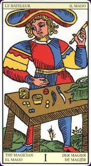 from the Tarot of Marseilles (Burdel)