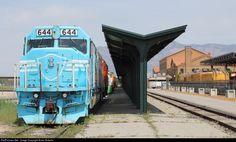 RailPictures.Net Photo: DYRX 644 Dynamic Rail Preservation EMD SDP40F at Ogden, Utah by Brian Roberts