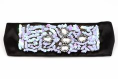 "Amazon.com: Pink Pewter ""Sutton"" Black & Purple Stretch Head Wrap Headband"