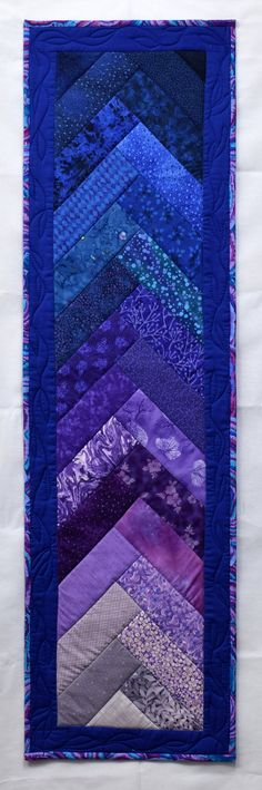 Quilted Insulated Decorative Sunset Table Runner by cindyrquilts