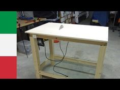Making a Homemade Table Saw (part 1) - YouTube