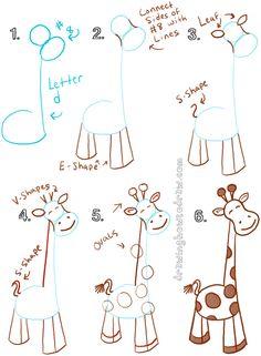 giraffe-05.png (600×818)