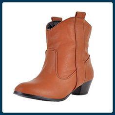Nonbrand, Damen Stiefel & Stiefeletten , Beige - Beige - Rote - Größe: 41