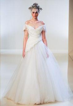 La robe de mariée Dilek Hanif Haute Couture printemps-été 2014 - Les plus belles robes de mariée Haute Couture Printemps-Eté 2014