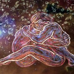 'Becoming One Heart', 2014 by Stephen Mead - Mixed Media