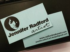 Look what arrived today! Soft greyed teal exactly what I wanted. I guess I'm official now :) #radfordmakesart