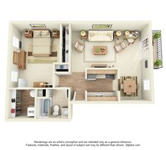 Floor Plans - Orchard Hills Apartment Homes