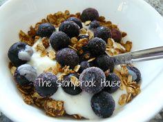 The Stonybrook House: The WORLD's Best Granola!!