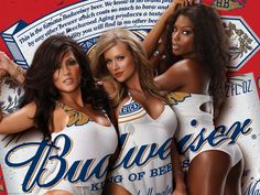 A great collection of Budweiser ads that contain both new beer commercials and old vintage magazine commercials. Lean back and let your eyes do the walking down this great beer ads alley! Lanisha Cole, Beer Commercials, Beer Types, Beer Girl, Up Girl, Girl Photos, Sexy Women, Drinks, Nature