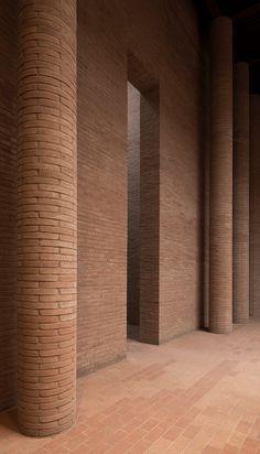 Tempio di Cremazione | Zermani Associati Studio di Architettura #bricks