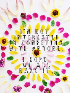 """""""I'm not interested in competing with anyone. I hope we all make it."""" Erica Cook #favorite"""