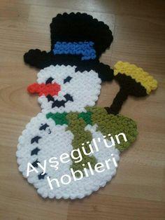 Baby Booties, Yoshi, Crochet Projects, Elsa, Snowman, Hello Kitty, Daisy, Crochet Patterns, Beads