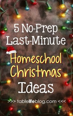 Need some last-minute help incorporating Christmas into your homeschool plans? Here are five easy, no-prep needed, last-minute homeschool Christmas ideas. Last Minute, Holiday Crafts For Kids, Christmas Ideas, Christmas 2017, Christmas Projects, Christmas Recipes, Christmas Time, Homeschool Curriculum Reviews, Homeschooling