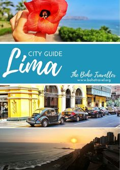 Lima City Guide from The Boho Traveller! The best advice around you can get before you head to Lima, check it out now! ~~~~~~~~~~~~~~~~~~~~~ Lima travel tips   things to do in Lima   where to go in Lima   Peru travel tips   things to do in Peru   Peru travel advice   what to eat in Lima   best of Lima   Lima travel advice   Macau picchu   how to get around in Lima