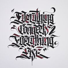 Calligraphy on Behance