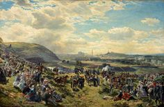 The Royal Volunteer Review, 7 August 1860 by Samuel Bough