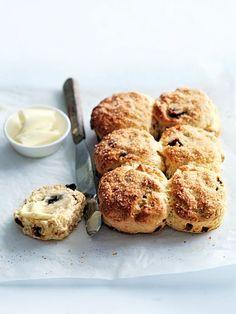 date and orange scones from Donna Hays - Genius!