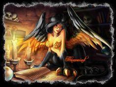 Flamewind the gynosphinx