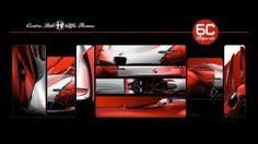 Alfa Romeo 6C Biposto Vision Gran Turismo - Design Sketches