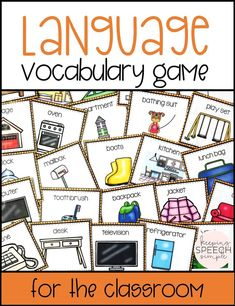 If you are looking for some ways to practice language skills with your elementary student, check out this fun language vocabulary game. Students will practice a variety of language skills that include: functions, word associations, part-whole relationships as well as using descriptive vocabulary. As a game, students are also required to use listening and inference skills. Ideal for speech therapy, classroom, special ed and ELL students. Can be used in small and large groups.
