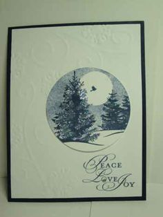 stampin up christmas cards | ... (Stampin' Up! Demonstrator Jackie Bolhuis): Christmas Card Ideas