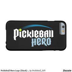 Pickleball Hero Logo (black) iPhone 6 Case