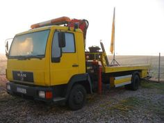 MAN L 2000 als Abschleppwagen in Taucha