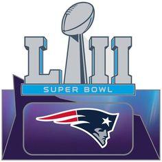 c77d3131a Super Bowl LII (52) New England Patriots Pin
