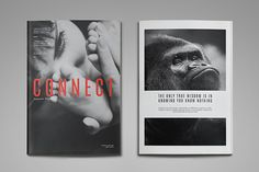 Connect Magazine Template by thirtypath on Creative Market