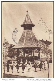 CPA TG MURES- LAZAR ODON CULTURAL AND RESTING PARK, DANCING Romania, Paris Skyline, Europe, Culture, Postcards, Dancing, Dance, Greeting Card