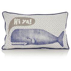George Home Whale Cushion