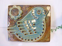 EGO Stengods Sweden Placa cerámica de pared // por tiendanordica