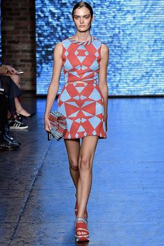 DKNY Spring 2015 Ready-to-Wear - Collection - Gallery - Look 1 - Style.com