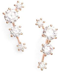 Nadri Edwardian Ear Crawlers #affiliate #earcrawlers #nordstrom #jewelry #accessories