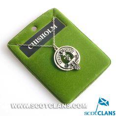 Chisholm Clan Crest