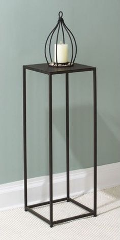 modern plant stands - how we love thy innovative modern design! These Plant Stands will not disappoint. Crafted of powder-coated iron..
