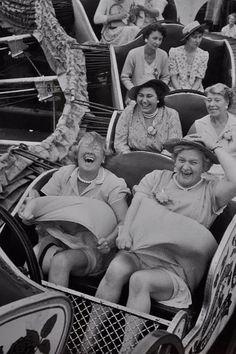 spaceghetto (vintage,roller coaster ride)