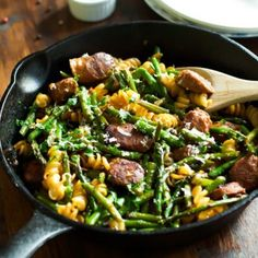 Garlic Shrimp Asparagus Skillet - Primavera Kitchen