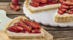 Τάρτα Λευκής σοκολάτας με φράουλες από τον Άκη Πετρετζίκη