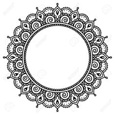 40031438-Mehndi-Indian-Henna-tattoo-round-pattern-Stock-Vector.jpg (JPEG Image, 1300 × 1300 pixels) - Scaled (59%)