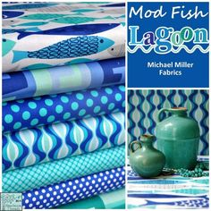 fish fabric - Google Search