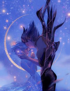 "Howl and Sophie from Studio Ghibli's film, ""Howl's Moving Castle. Studio Ghibli Films, Art Studio Ghibli, Howl's Moving Castle, Howls Moving Castle Wallpaper, Personajes Studio Ghibli, Howl And Sophie, Art Anime, Fan Art, Hayao Miyazaki"
