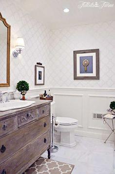 Guest Bathroom Remodel, Shower Remodel, Bathroom Remodeling, Remodeling Ideas, Bathroom Makeovers, Small Toilet, Wooden Decor, Beautiful Bathrooms, Romantic Bathrooms
